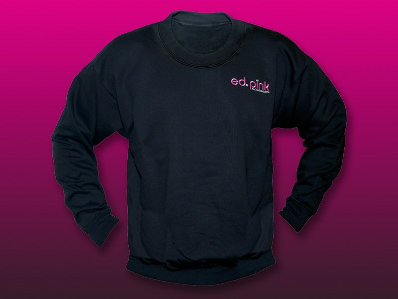 Ed Pink Racing Engines Sweat Shirts